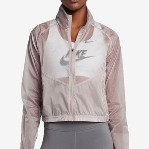 Nike See-Through Running Jacket